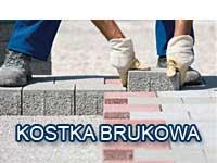 układanie kostki granitowej, układanie kostki betonowej, brukarz tanio